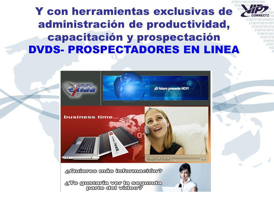 DVDS- PROSPECTADORES EN LINEA