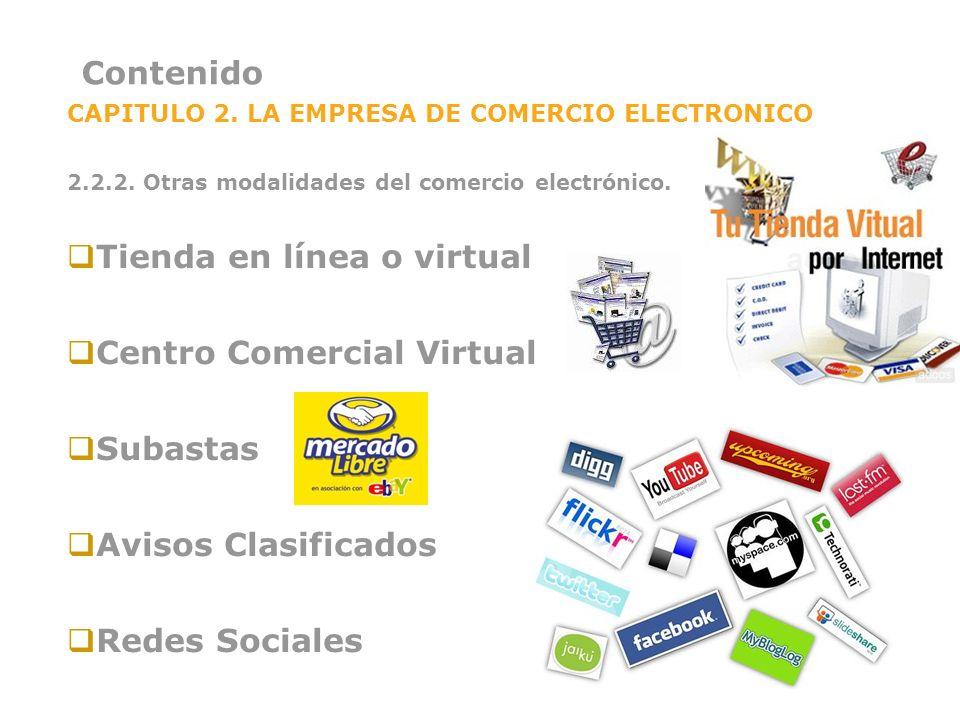 Tienda en línea o virtual