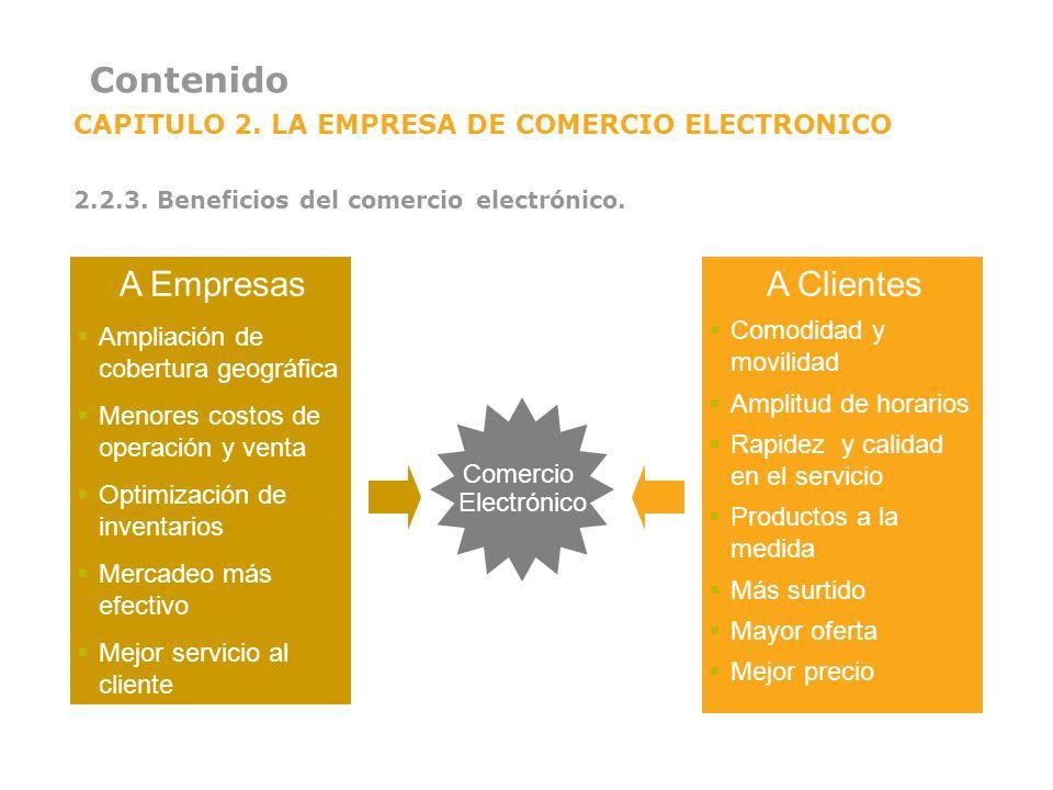 Contenido A Empresas A Clientes
