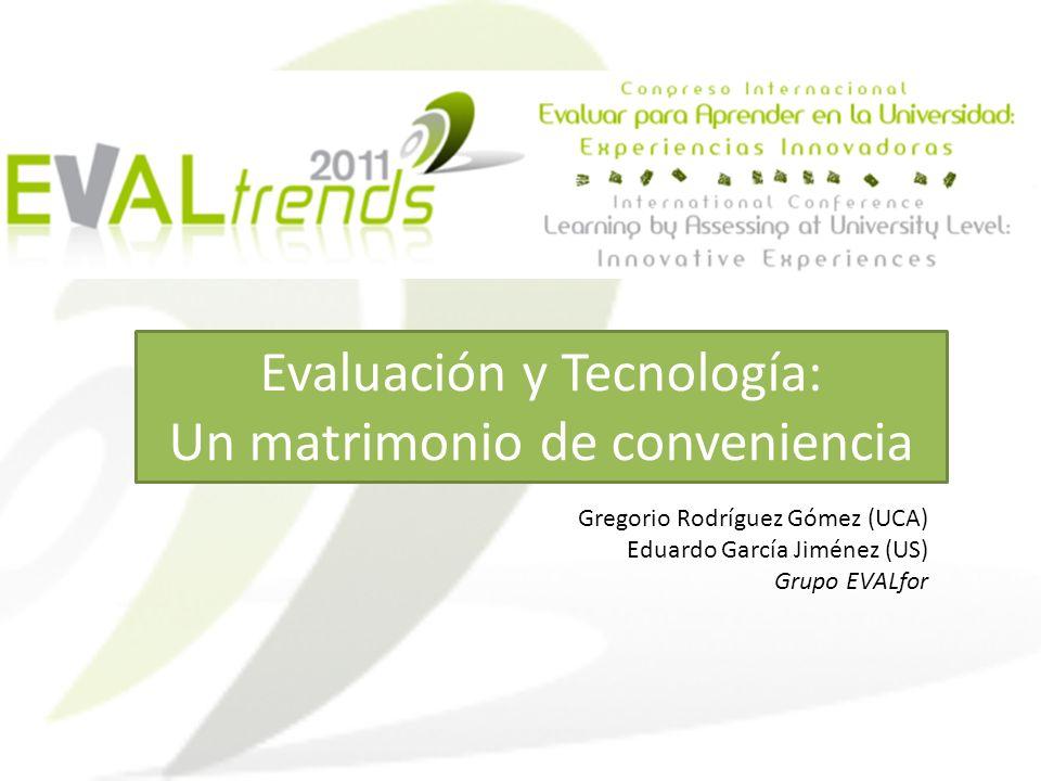 Evaluación y Tecnología: Un matrimonio de conveniencia