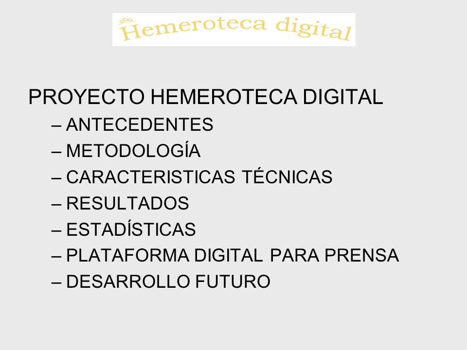 PROYECTO HEMEROTECA DIGITAL