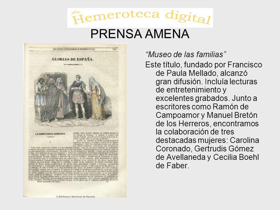 PRENSA AMENA Museo de las familias