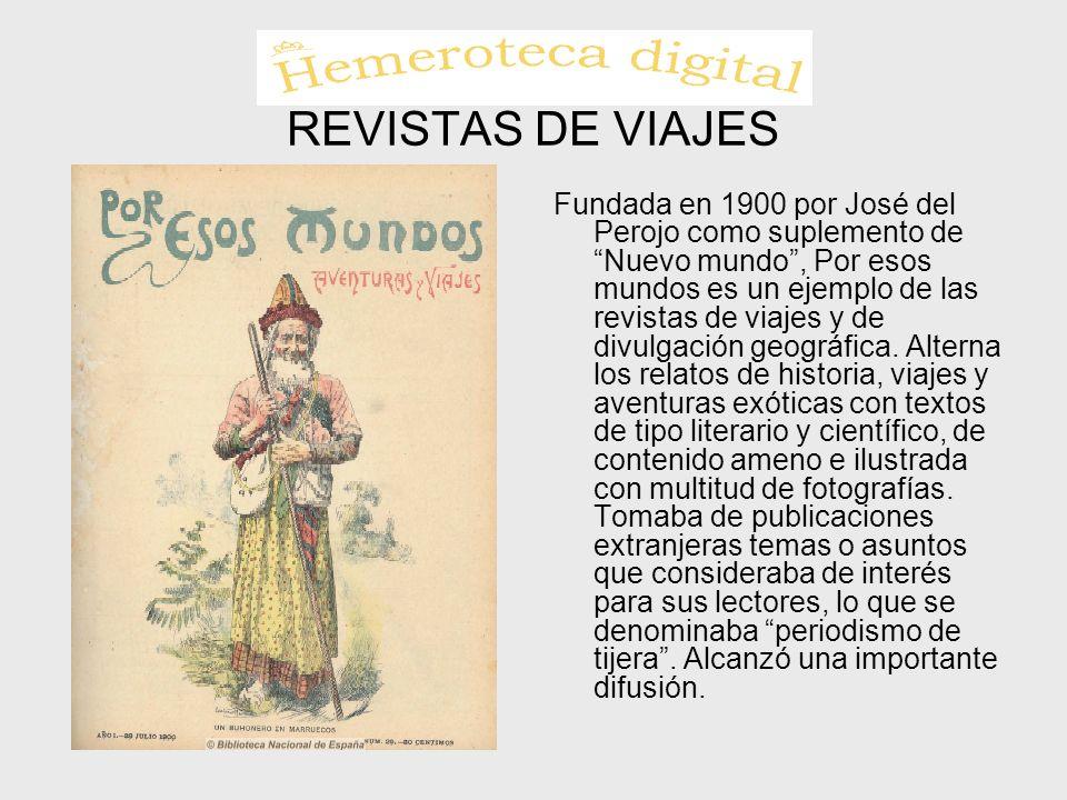 REVISTAS DE VIAJES