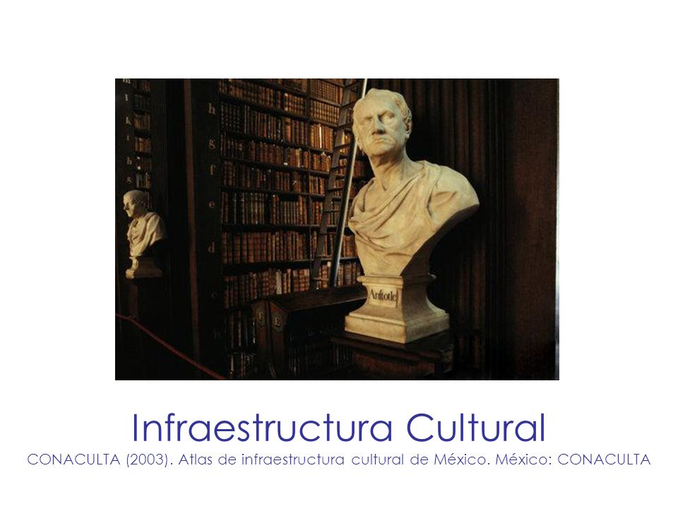 Infraestructura Cultural CONACULTA (2003)
