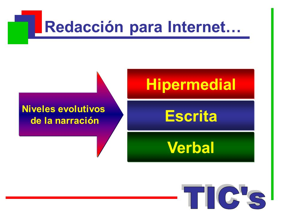 Redacción para Internet…