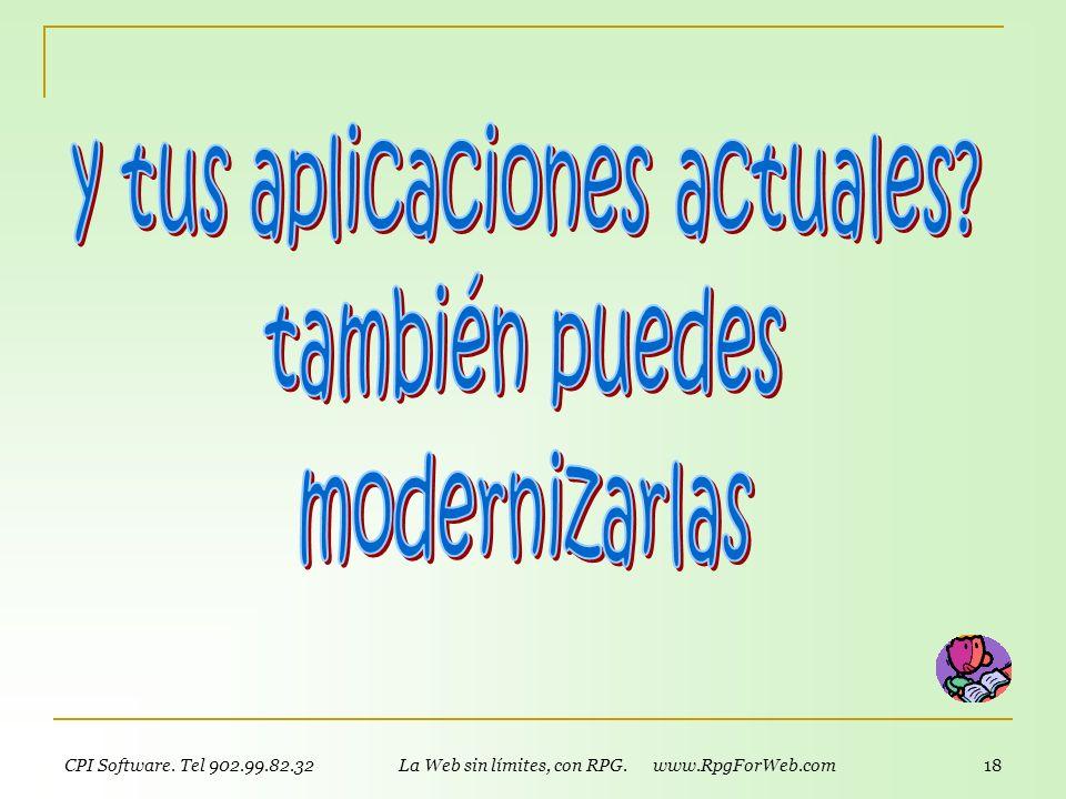y tus aplicaciones actuales también puedes modernizarlas
