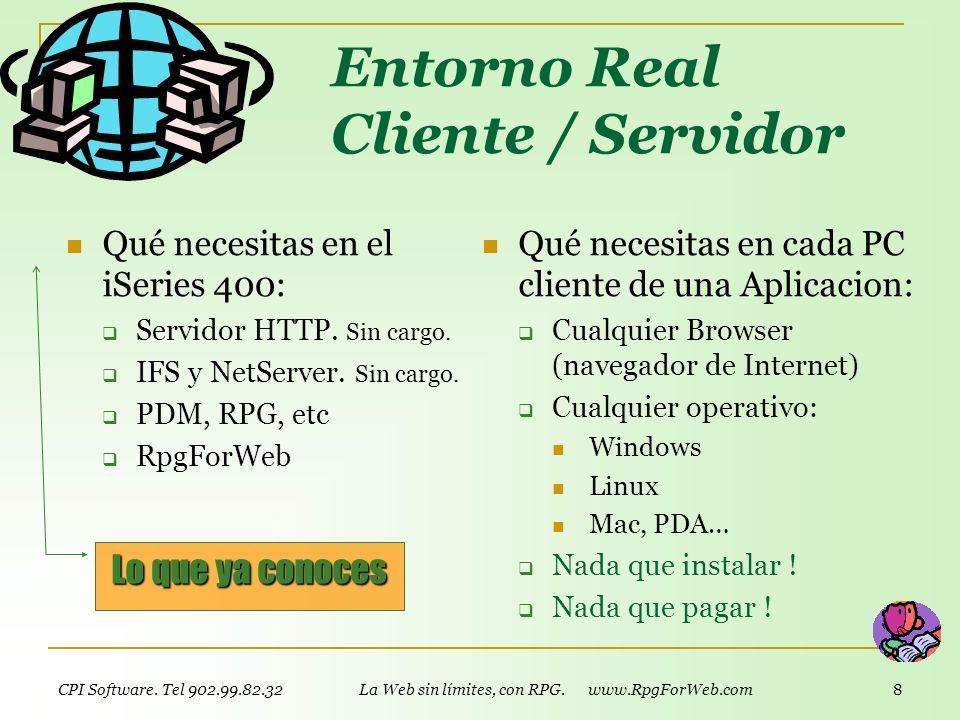 Entorno Real Cliente / Servidor