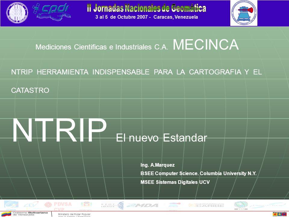 3 al 5 de Octubre 2007 - Caracas, Venezuela