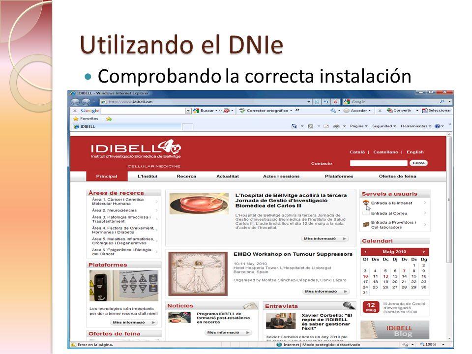 Presentación IDIBELL Certificados electrónicos
