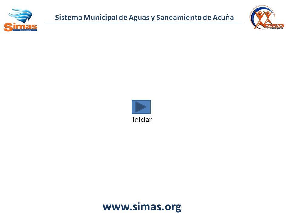 www.simas.org Sistema Municipal de Aguas y Saneamiento de Acuña