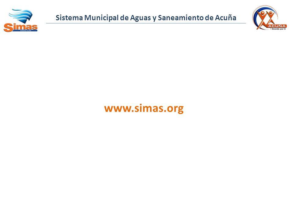 Sistema Municipal de Aguas y Saneamiento de Acuña