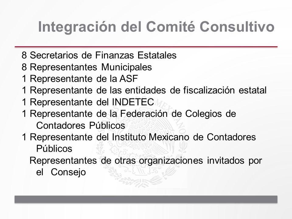 Integración del Comité Consultivo