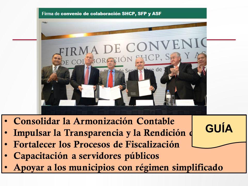 GUÍA Consolidar la Armonización Contable