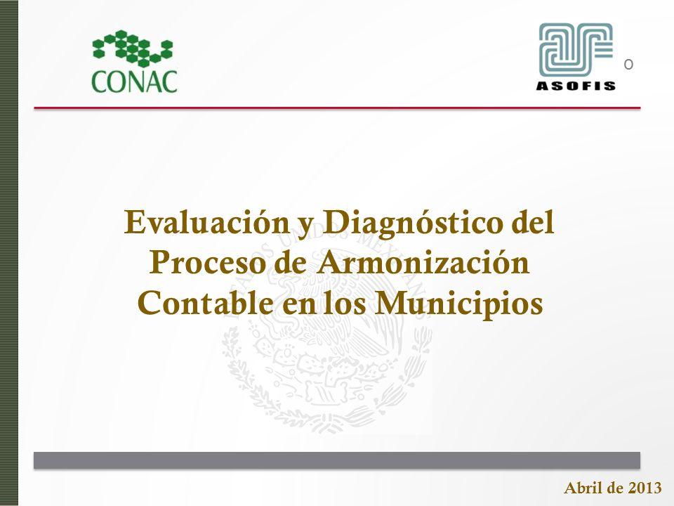 Evaluación y Diagnóstico del Proceso de Armonización Contable en los Municipios