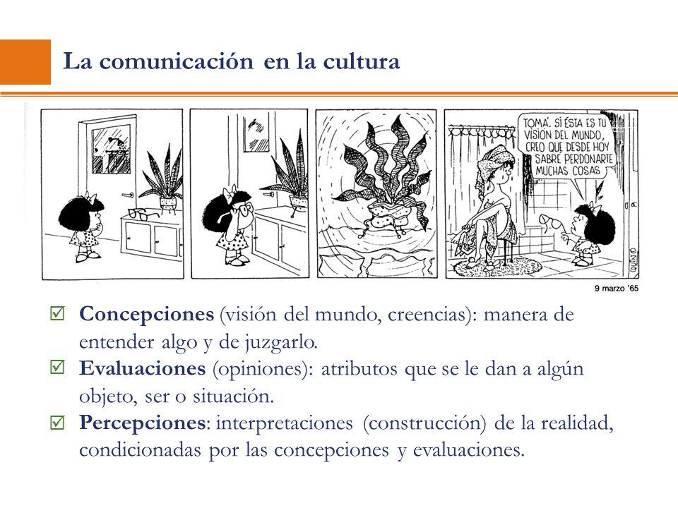 La comunicación en la cultura