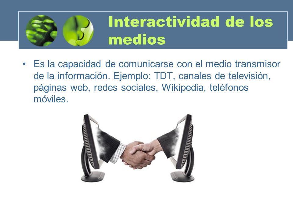 Interactividad de los medios
