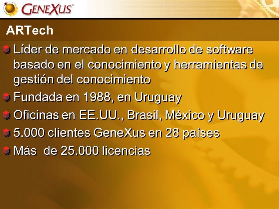 Oficinas en EE.UU., Brasil, México y Uruguay