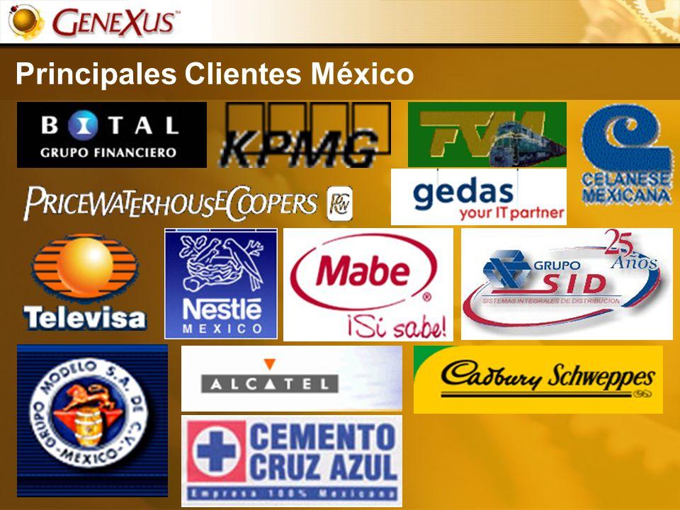 Principales Clientes México