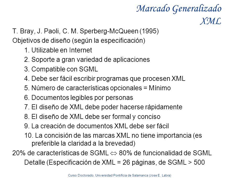 Marcado Generalizado XML