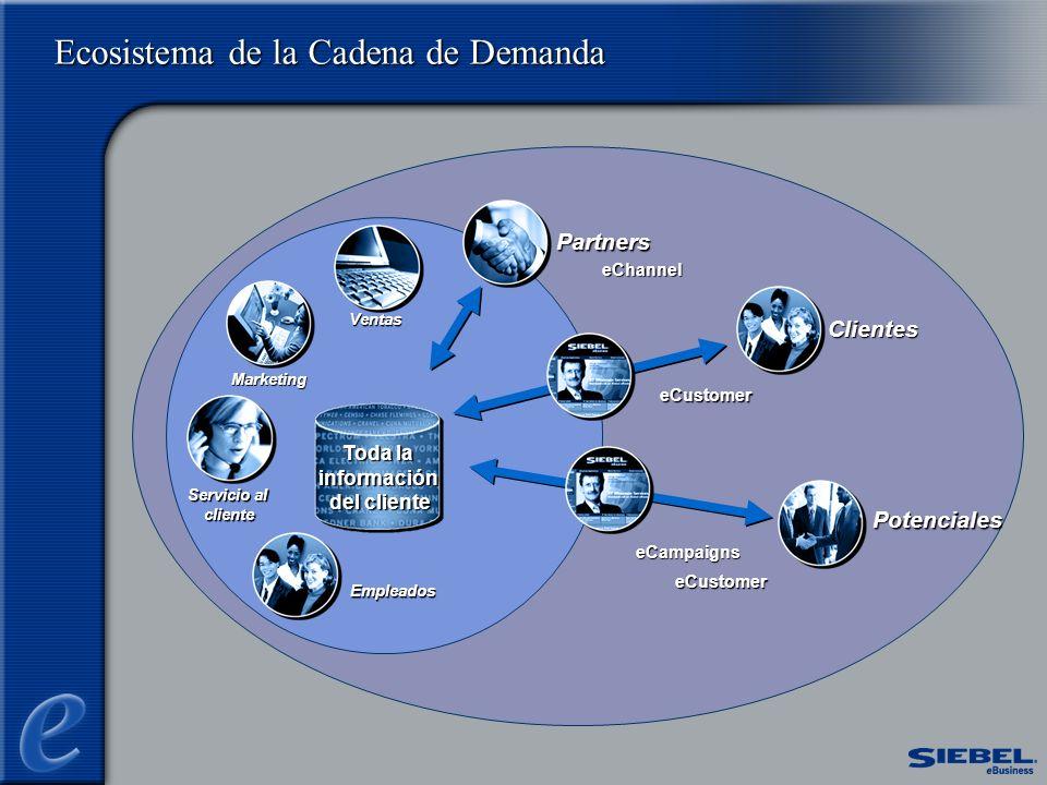 Ecosistema de la Cadena de Demanda