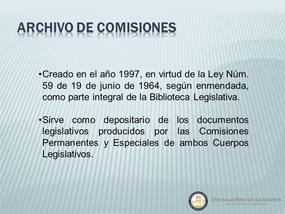 Archivo de comisiones
