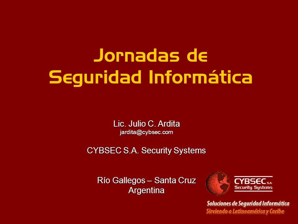 Jornadas de Seguridad Informática