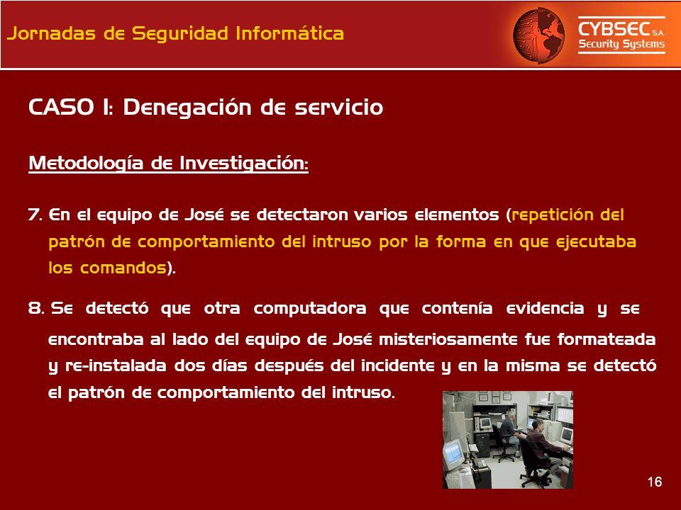 CASO 1: Denegación de servicio
