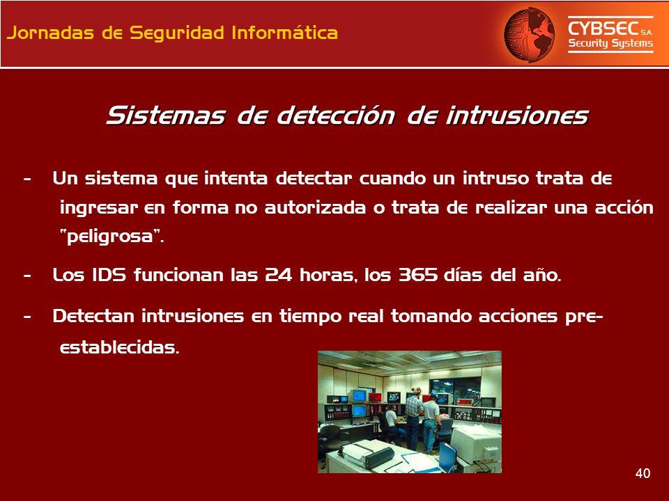 Sistemas de detección de intrusiones