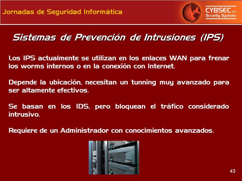 Sistemas de Prevención de Intrusiones (IPS)