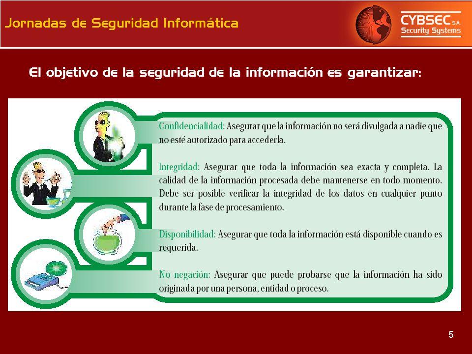 El objetivo de la seguridad de la información es garantizar: