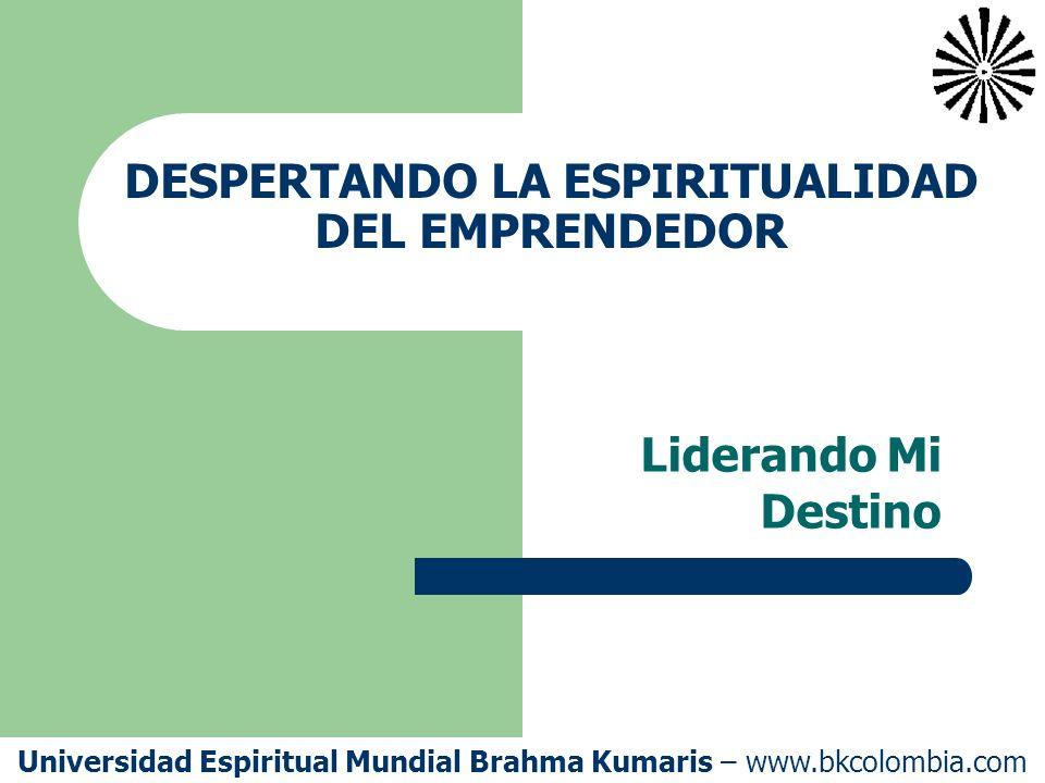 DESPERTANDO LA ESPIRITUALIDAD DEL EMPRENDEDOR