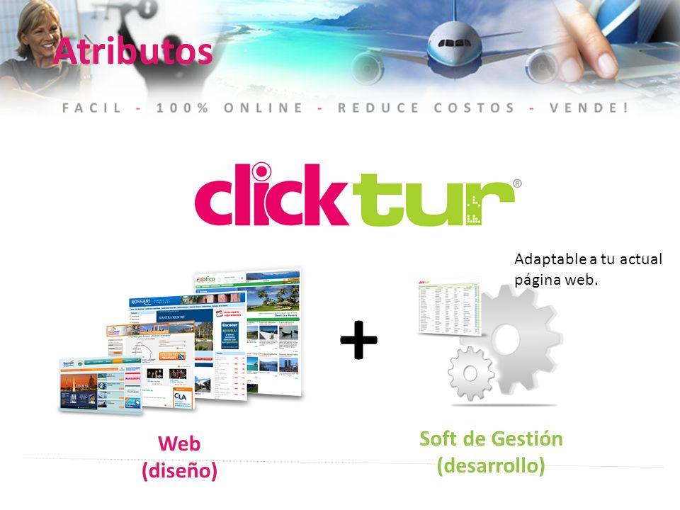 + Atributos Soft de Gestión Web (desarrollo) (diseño)