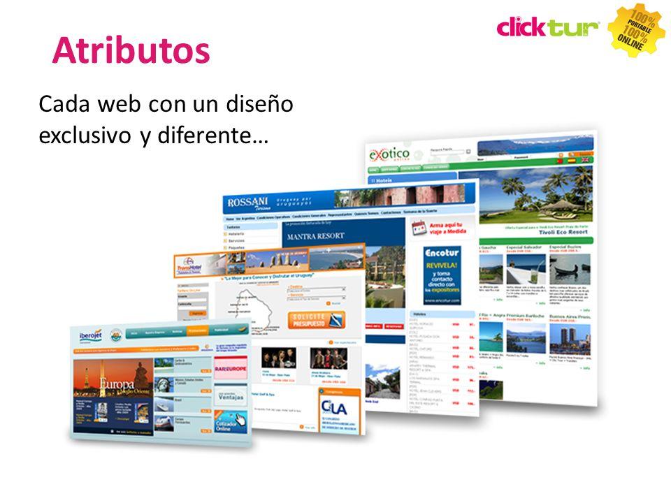 Atributos Cada web con un diseño exclusivo y diferente… TIPS TIPS 28