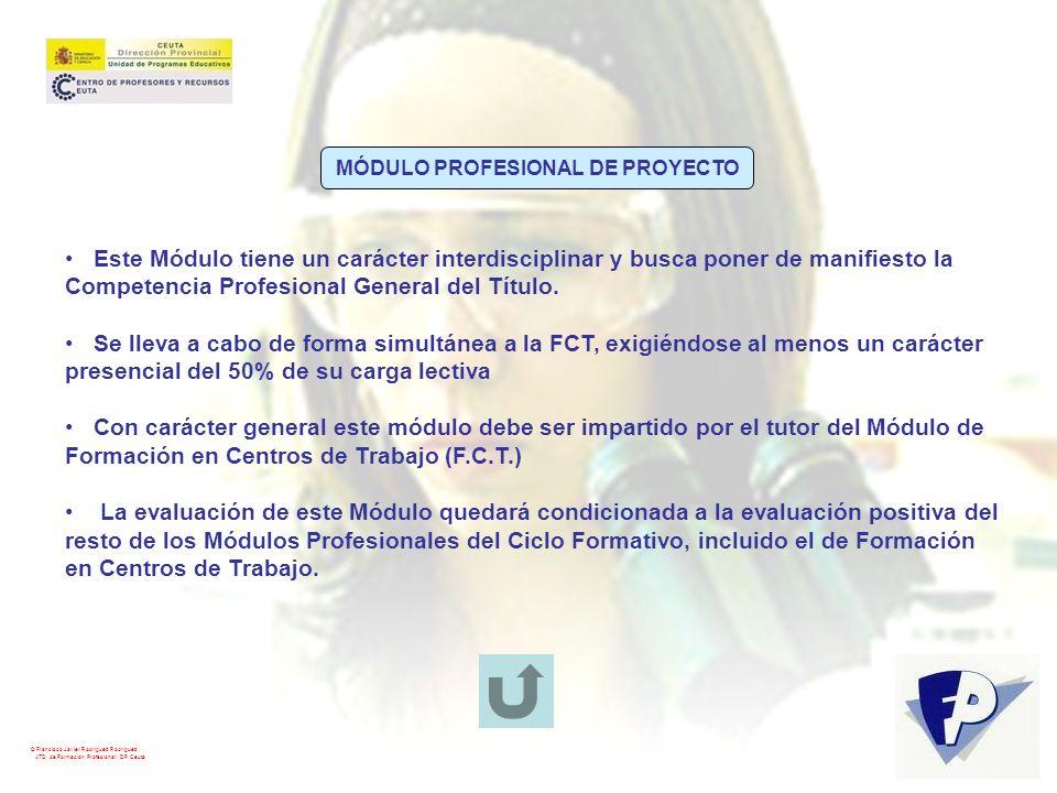 MÓDULO PROFESIONAL DE PROYECTO