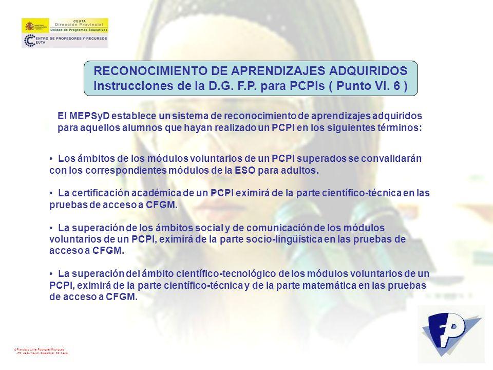 RECONOCIMIENTO DE APRENDIZAJES ADQUIRIDOS