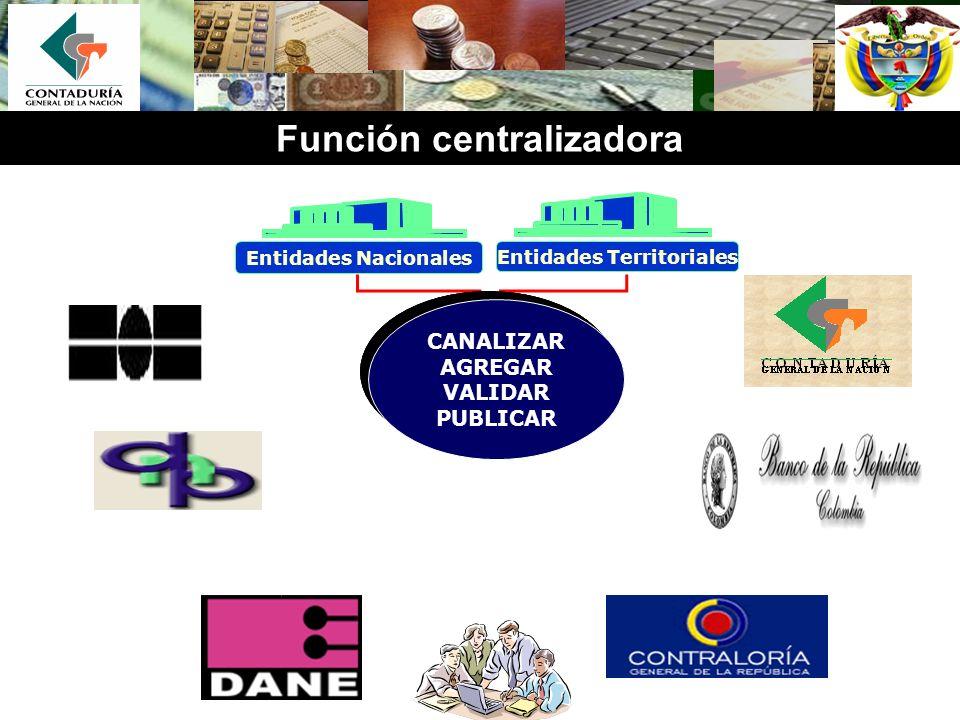 Función centralizadora