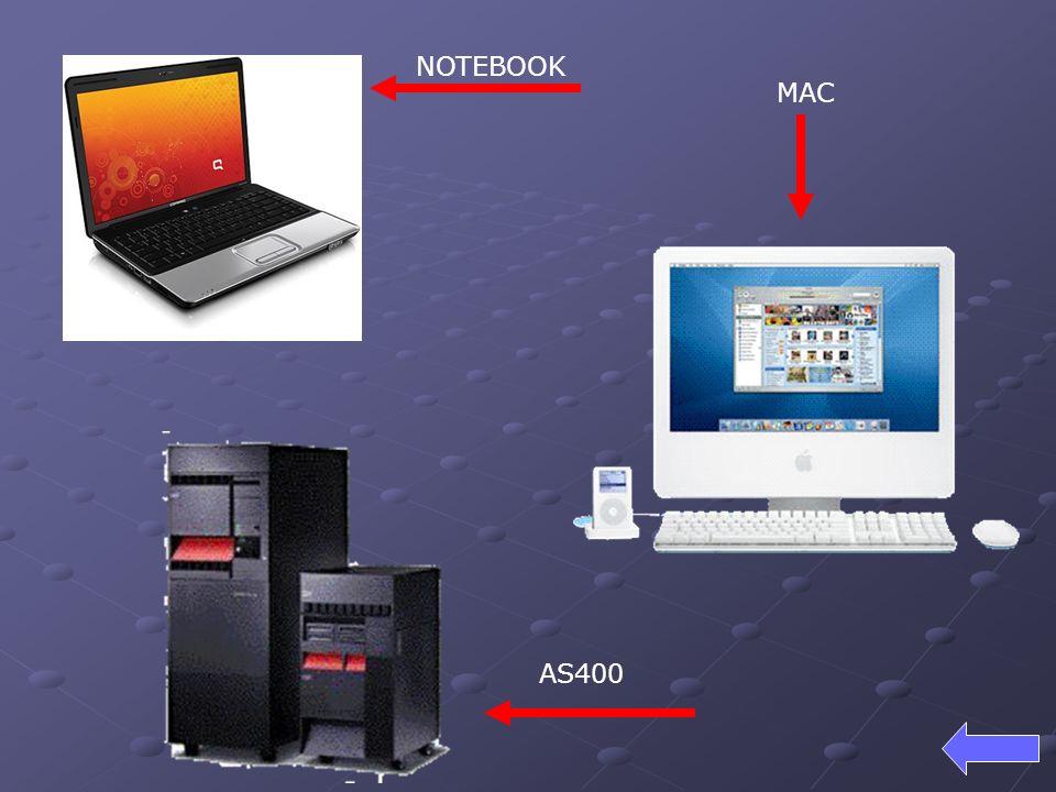 NOTEBOOK MAC AS400