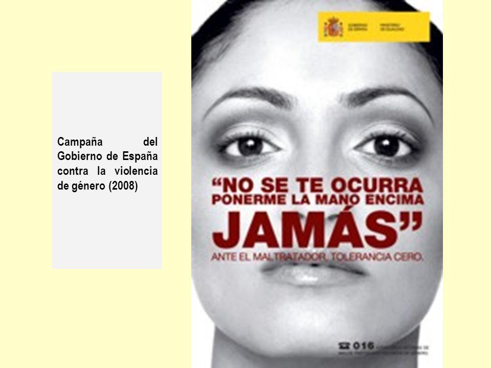 Campaña del Gobierno de España contra la violencia de género (2008)