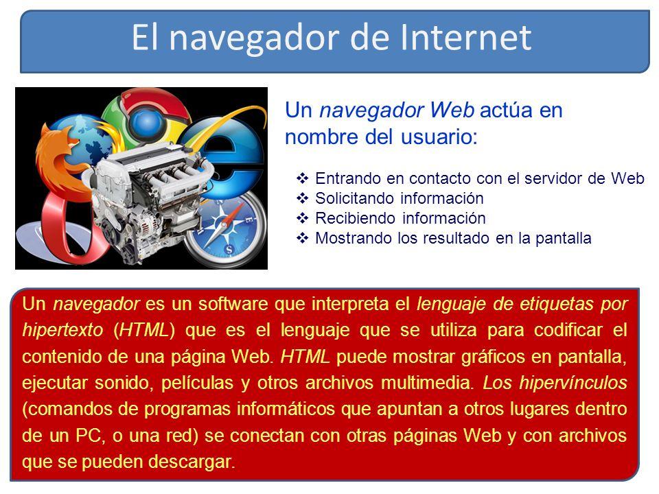 El navegador de Internet