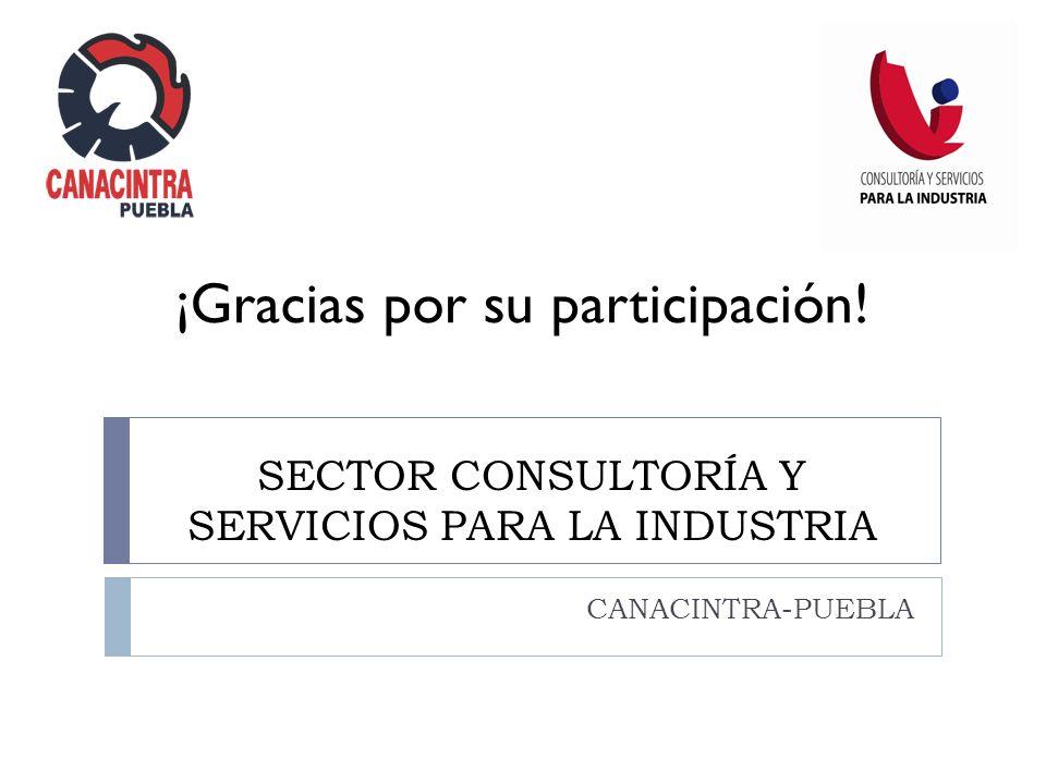 SECTOR CONSULTORÍA Y SERVICIOS PARA LA INDUSTRIA
