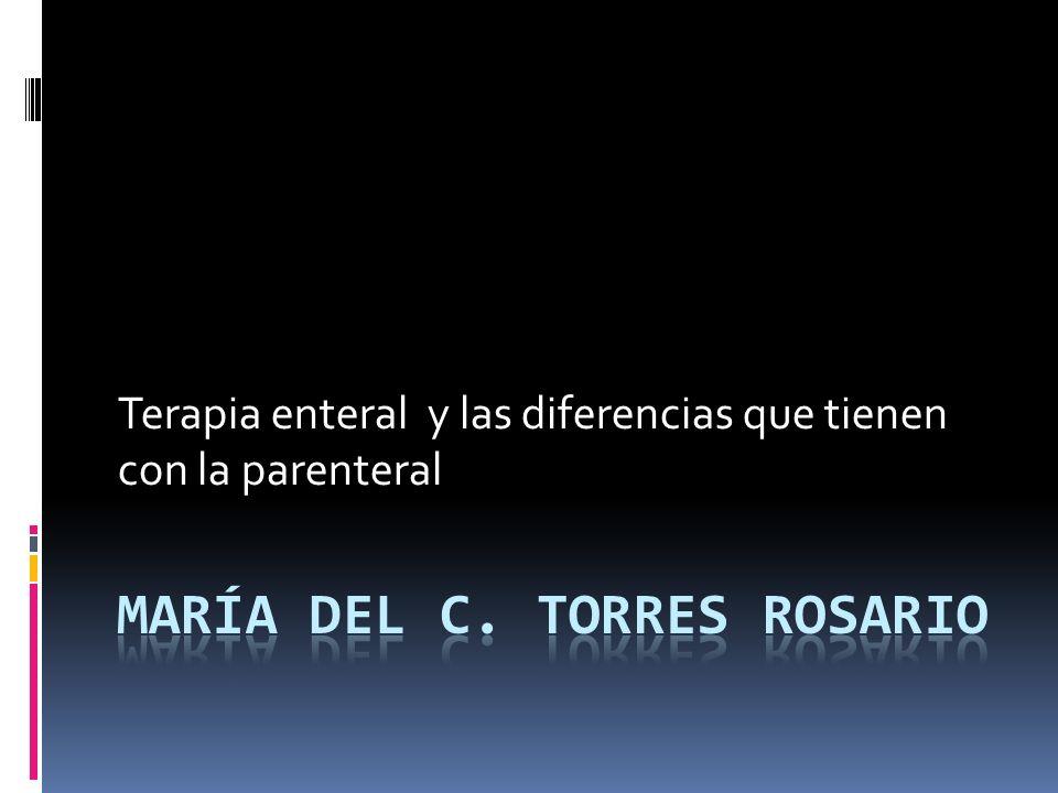 María del C. Torres Rosario