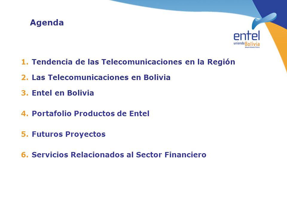 Agenda Tendencia de las Telecomunicaciones en la Región