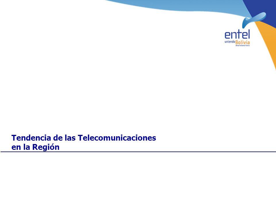 Tendencia de las Telecomunicaciones en la Región