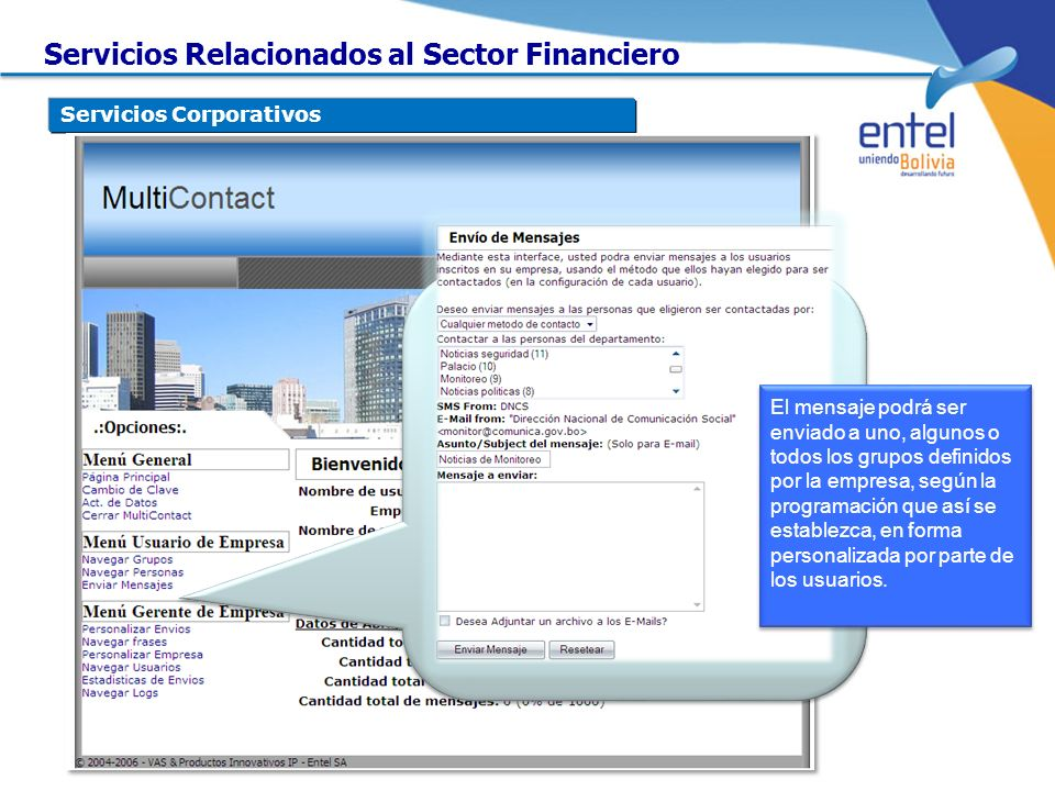 Servicios Relacionados al Sector Financiero