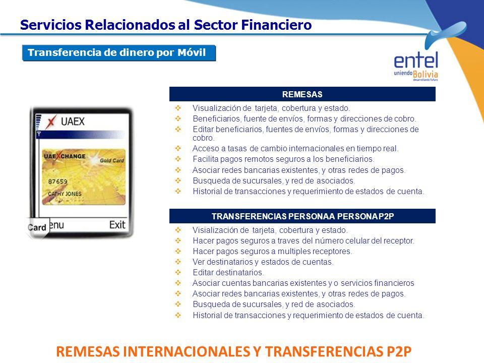 REMESAS INTERNACIONALES Y TRANSFERENCIAS P2P