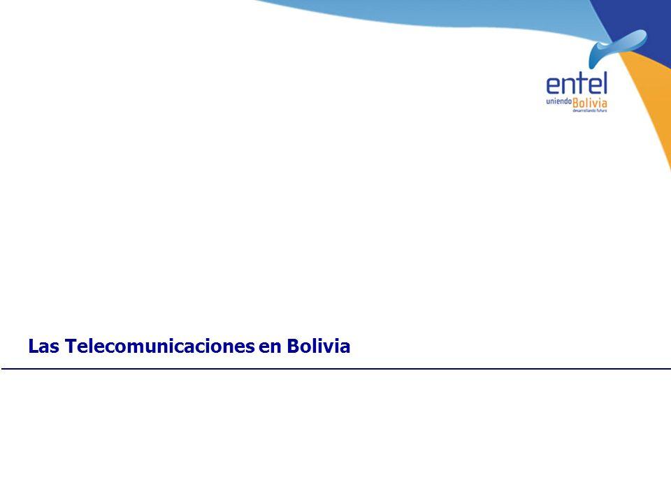 Las Telecomunicaciones en Bolivia