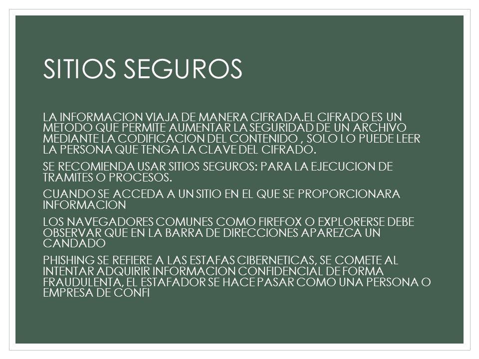 SITIOS SEGUROS