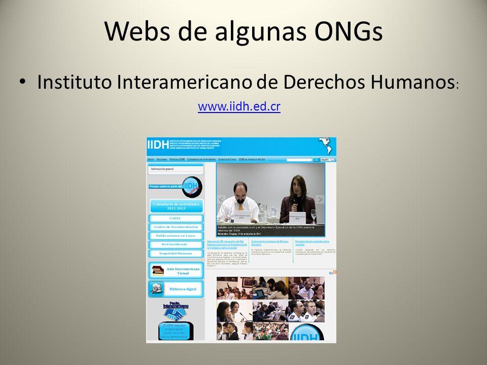 Instituto Interamericano de Derechos Humanos: