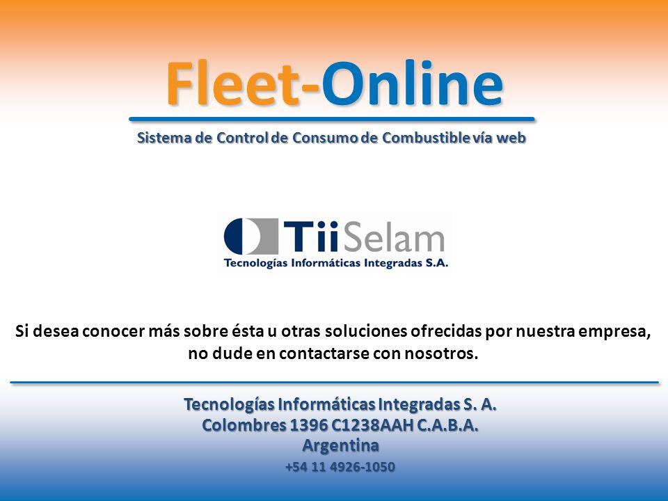 Tecnologías Informáticas Integradas S. A.