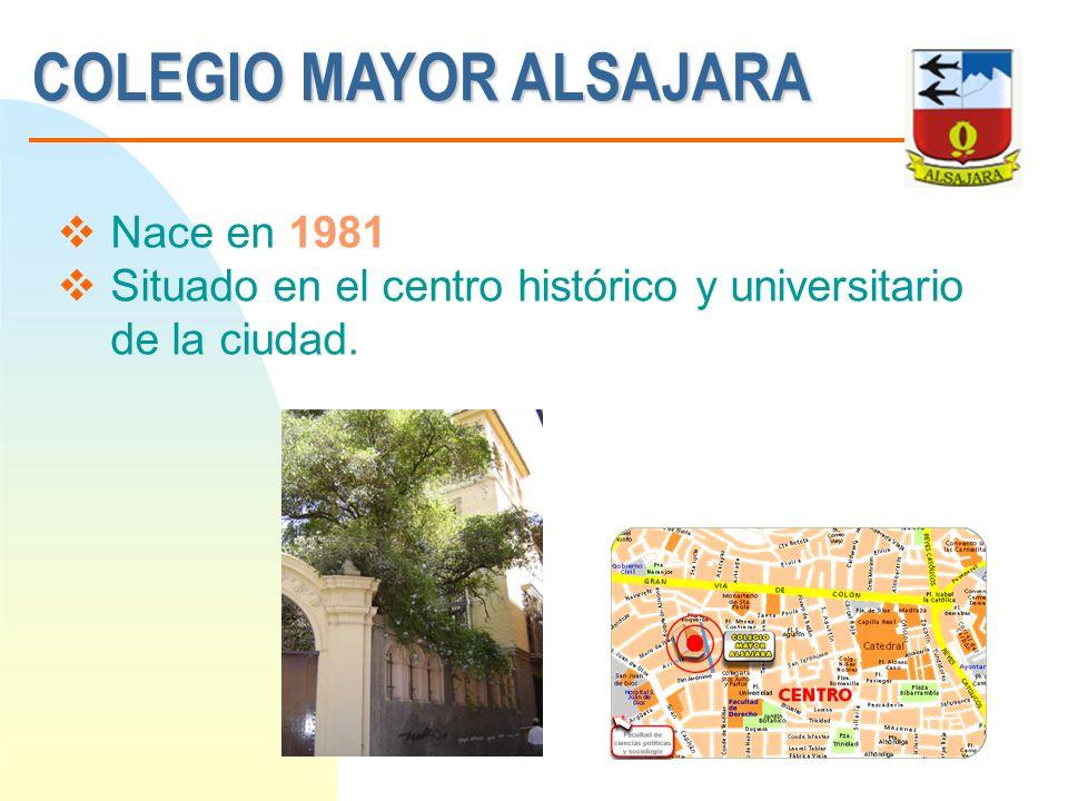 COLEGIO MAYOR ALSAJARA